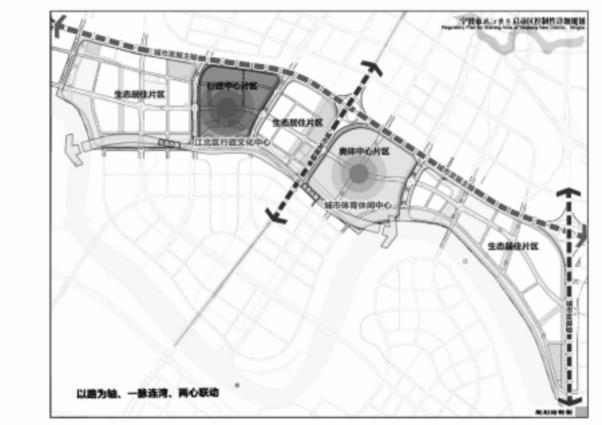姚江新区启动区规划图
